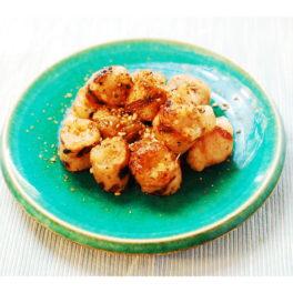 マルチョウの葱味噌詰め焼き